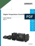 Regulator Temperatura E5_C Users Manual