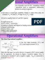 BE OPAMP Operational Amplifiers by TJ Shivaprasad