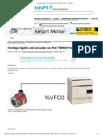 Contaje Rápido Con Encoder en PLC TWIDO %VFC - InfoPLC