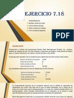 Ejercicio 7.18 Completo