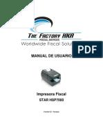 Manual de Usuario Hsp7000