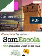 Jornades TabletaCS Aprenentatge Per Projectes #DescobrintBenavites PDF