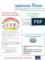 week 1 - kg2b newsletter