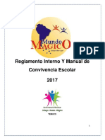 Manual Convivencia Escolar Mundo Magico Mayo 2017