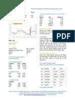 Market Update 6th September 2017