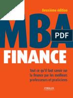 Mba Finance Partie