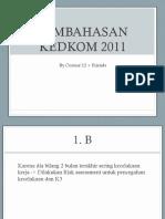 Pembahasan arsip kedkom 2011.pptx