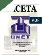 Gaceta III 2015 venezuela