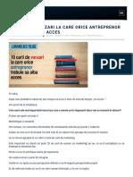 10 Carti de Vanzari La Care Orice Antreprenor Trebuie Sa Aiba Acces