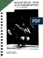 A Program of Multiyear Training in Weightlifting.pdf