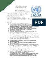 Humanitarian Agencies Urged to Work Together to Strengthen Disaster Response in Somalia