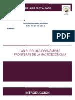 burbuja de la macroeconomia