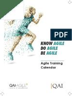 Agile TrainingCalendar A4