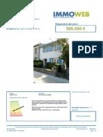 Immoweb Dossier 7016164
