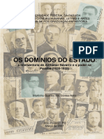 Os Dominios Do Estado - Martinho Guedes