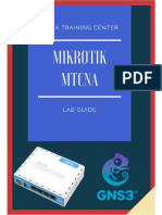 MTCNA Lab Guide INTRA_1st Edition