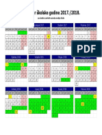 Kalendar 2017-18 Zrss