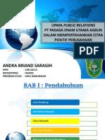 Upaya Public Relations