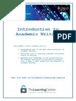 Intro to Academic version 2