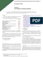 ASTM D820 21598 en Detergentes Sintetico P2O5