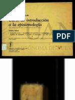 epistemologia UNAM