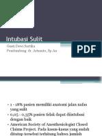 Referat Intubasi Sulit 2