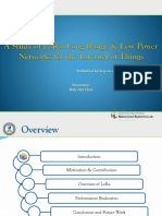 A Study of LoRa_Long Range and Low Power Networks for the Internet of Things