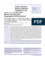 2013_Popa_Fine-Scale Population Genetics Analysis of Platynereis Dumerilii (Polychaeta, Nereididae) in the Black Sea- How Do Local Marine Currents Drive Geographical Differentiation