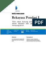 Modul Ajar Pondasi 01 Tm 03 - Rev Wa00
