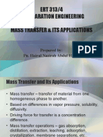 Mass Transfer Theories