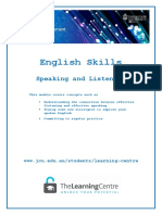 English skill for writing