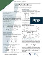 Multivalent Peptide Dendrimers