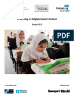 2012 Investing in Afghanistan's Future Report