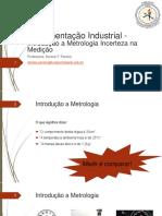 6 - Instrumentação Industrial - Introdução a Metrologia e Incerteza Na Medição