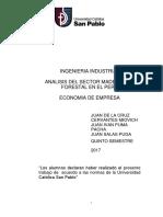 Análisis Del Sector Maderero y Forestal en El Perú.