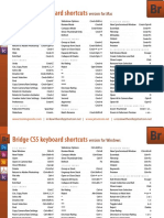 Bridge Cs5 Keyboard Shortcuts