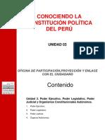 CONOCIENDO LA CONSTITUCIÓN POLITICA DEL PERÚ