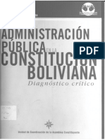 Reforma Administracion Publica_bolivia