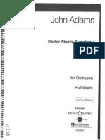 Adams Dr Atomic Sym