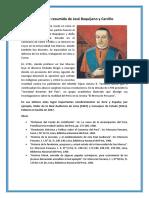 Biografía Resumida de José Baquíjano y Carrillo