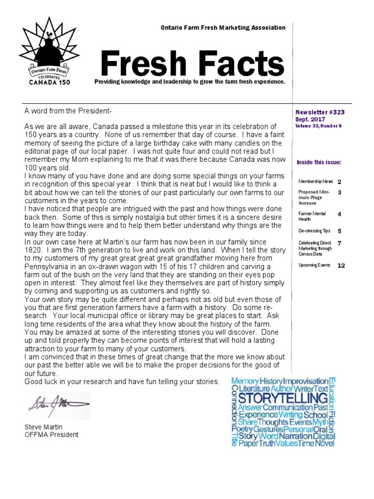 Fresh Facts Sept  2017 | Pollinators | Infection