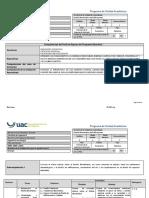 PUA Diseño Bioclimático de Edificaciones
