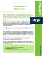 BRIEFING Denmarks Commitment to 100pct Renewable Energy