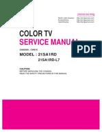 Manual de tv LG MODEL