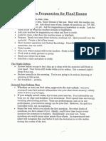 freshman finals meeting notes 2014