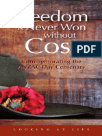 Au LALFreedomisNeverWonwithoutCost eBook