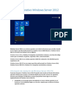 Sistema Operativo Windows Server 2012