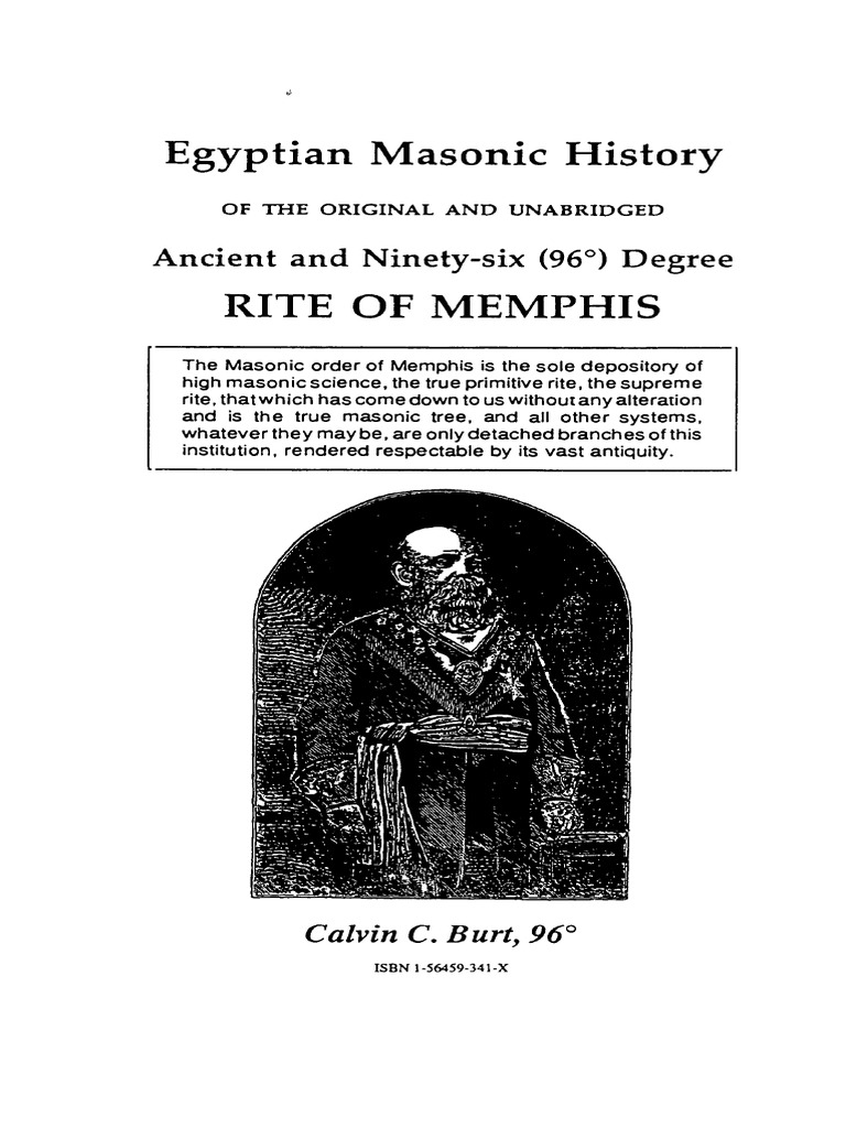 Egyptian Masonic History Pdf Freemasonry
