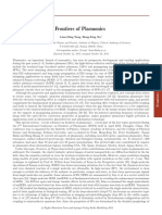 Frontiers of Plasmonics