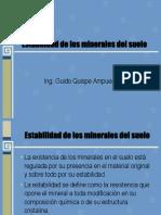 Presentacion Ndeg 2 Estabilidad de Los Minerales Del Suelo 47398